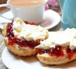 village cream tea east devon