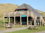 beach cream tea hut cornwall