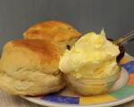 Cornish cream tea in looe