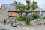 cream tea cafe near lands end cornwall