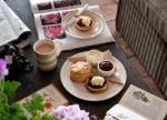 Duchy of Cornwall cafe cream tea