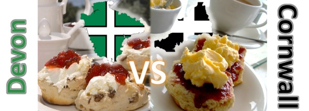 Devon vs Cornish Cream Tea